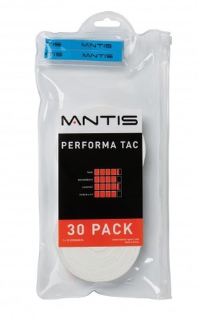 MATSG004 Mantis Overgrip Performa Tac 30pack white