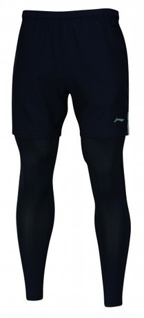 AAPM123-1 Li-Ning Leg Warmer Short Men Black M