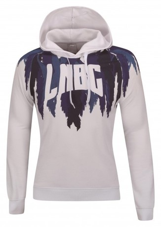 AWDN918-1 Hoodie Lady White S