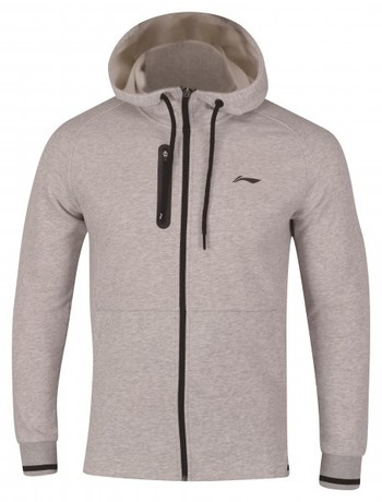 AWDN945-2 Hoodie Jacket Men Grey M