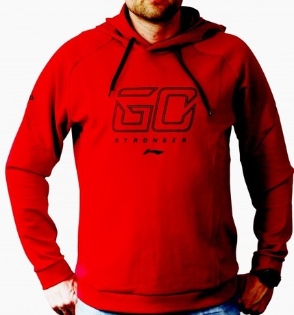 AWDP087-6 Hoodie Go Stronger Red 4XL