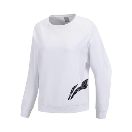AWDP118-1 Fitness Pullover Standard White L