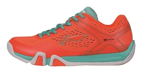 AYTM039-2 Badminton Schuh Flash X Men Orange Gr.42 1/3  -US 9  -265