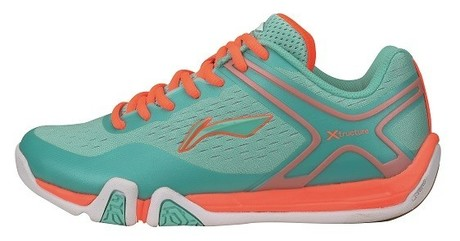 AYTM048-1 Badminton Schuhe Flash X Lady Turquoise Gr.38 1/3  -US 7,5  -240