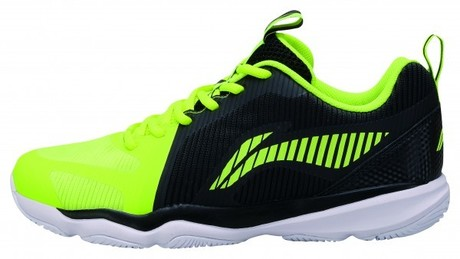 AYTN053-2 Li-Ning Badmintonschuh Ranger TD Men BlackYellow EU46 1/3- UK11- US12- 295mm