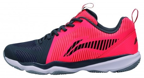 AYTN053-4 Li-Ning Badmintonschuh Ranger TD Men RedBlack EU46 1/3- UK11- US12- 295mm