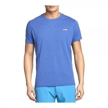 Li-Ning ATSK041-2 Running Shirt Men Blue M