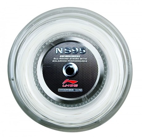 AXJF032-1 NS 95 Badmintonstring White 200M