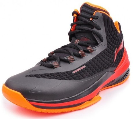 ABAK003-1 Basketball Shoe Shadow Walker BlackRed Gr.39 23 -US 7 -245