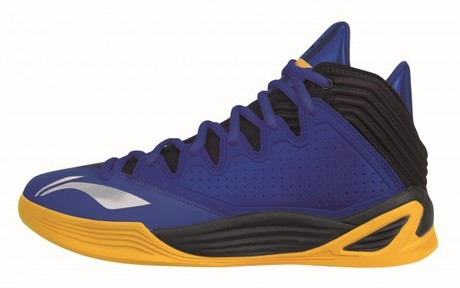 ABFK001-5 Li-Ning Basketball Schuh Quicksand Low blueyellow Gr.42 1/3  -US 9  -265